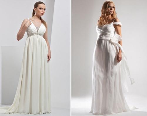 Сшить свадебное платье для беременной своими руками 89